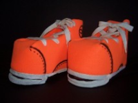 Orange Tennis Shoe