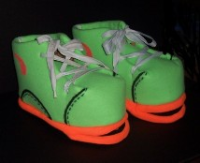 Green Tennis Shoe