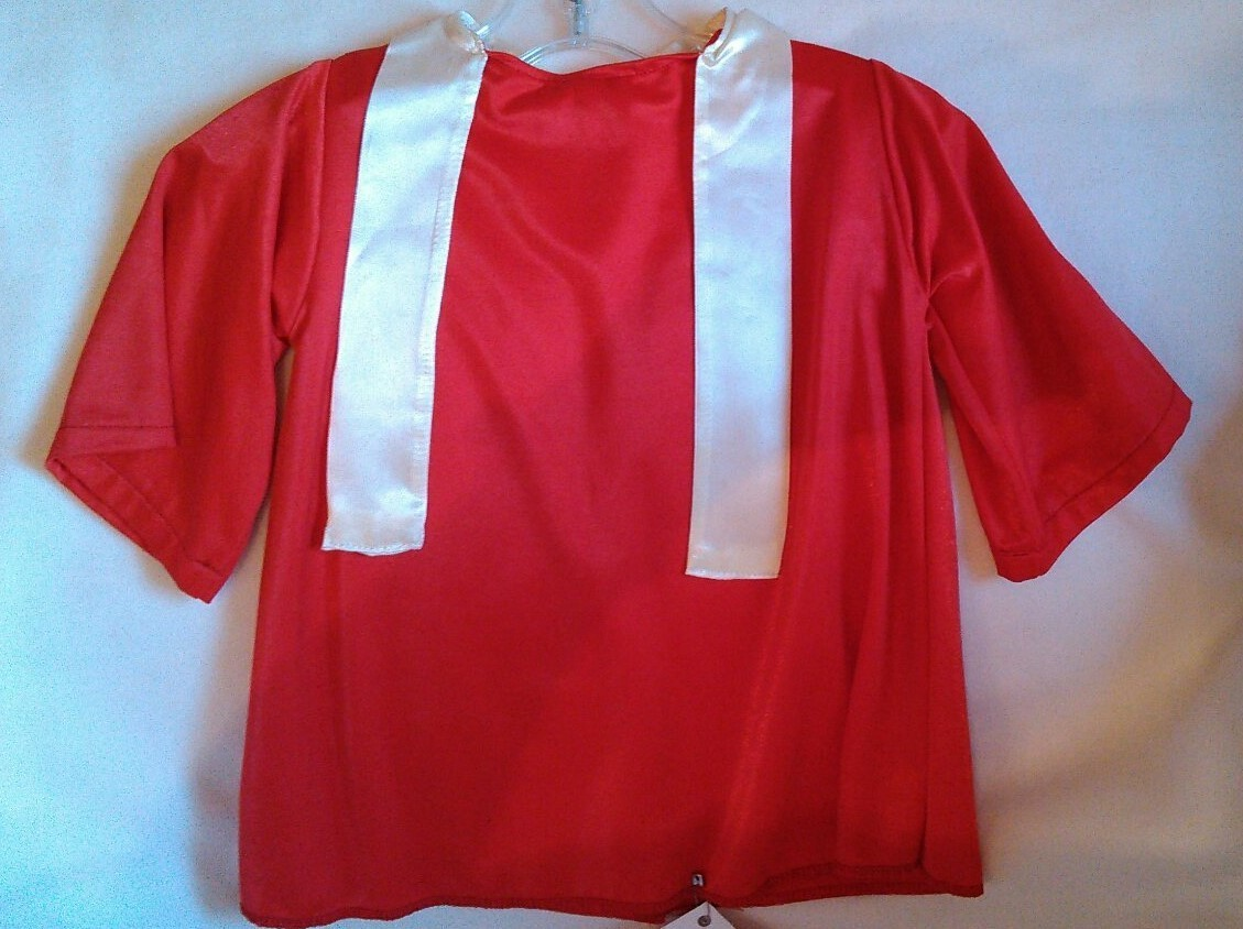 Choir Robe Mid Size Red His Hands Puppets