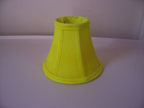 Blacklight Lampshade Puppet Kit 5 inch Yellow Bell